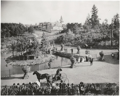 Spokane History Manito Park And Zoo 1905